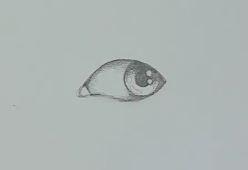 Auge zeichnen Schritt 4