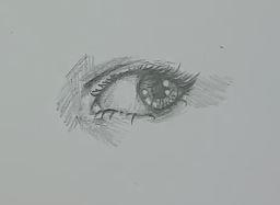 Auge zeichnen Schritt 7