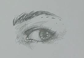 Auge zeichnen Schritt 8